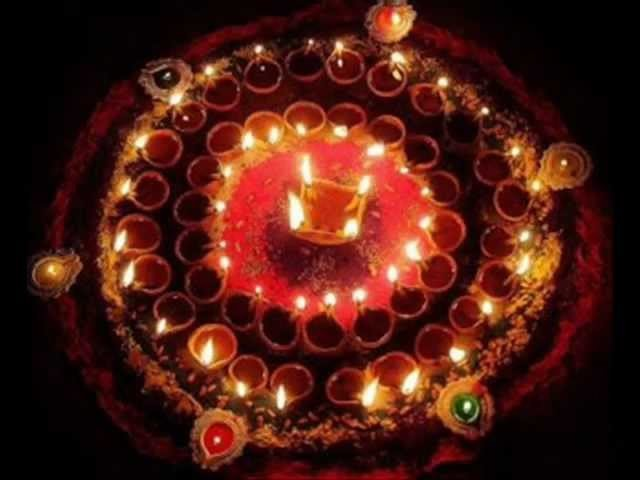 Diwali Rangoli Design Video