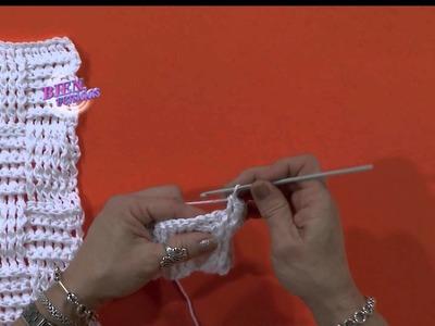 Escuela Crochet - Sweater Punto Pancito