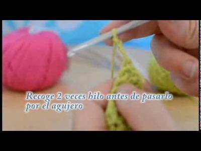 Ganchillo.crochet #5     Punto alto doble