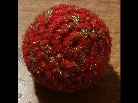 amigurumi pattern free palla di natale uncinetto - manifantasia | 360x480
