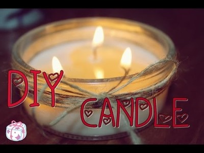 DIY CANDLES - Candele fai da te da regalare! -Poisondeb