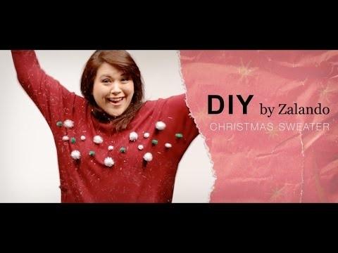 DIY Maglione di Natale - Per le feste personalizza il tuo pullover - #zalandodiy