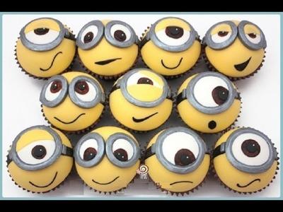 Despicable  Me Minion Cupcake