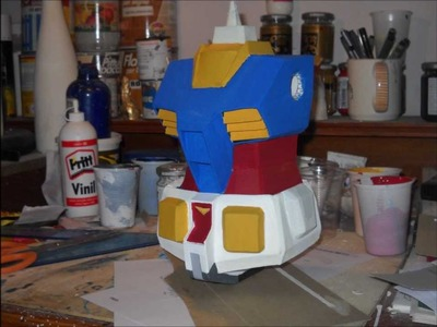 Gundam paper model (tutorial)