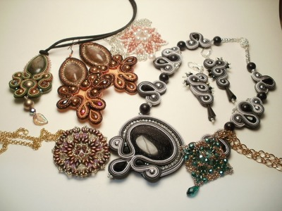 Nuove creazioni al Soutache e Tutorial Superduo | Soutache and superduo jewelry