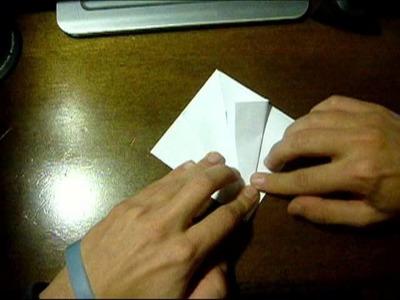 Tutorial Gru Origami