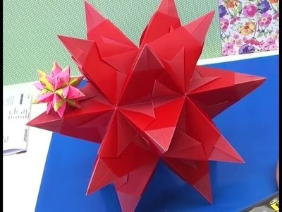 How to make a paper star tutorial italiano Come realizzare stelle tridimensionali origami