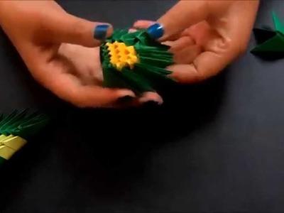 Mariposa origami 3D paso a paso