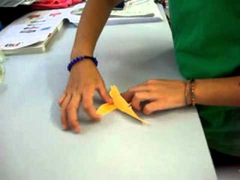 Origami farfalla