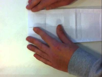 Origami iPhone stand tutorial (italiano)