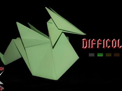 [ORIGAMI ITA] Drago Facile (Emilson Nunes Dos Santos) || Origami Decorativi.Animali.Semplici