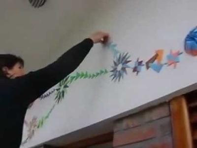 Origami Mural  Ciclo 33