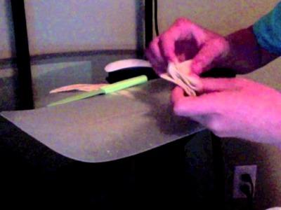 Origami Pita Crane