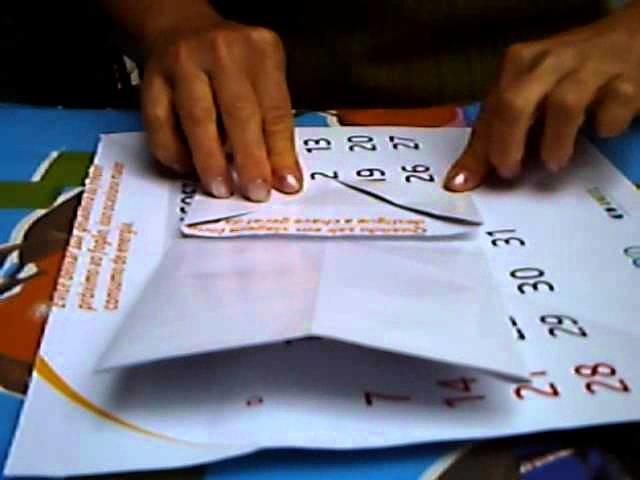 Porta retrato de origami