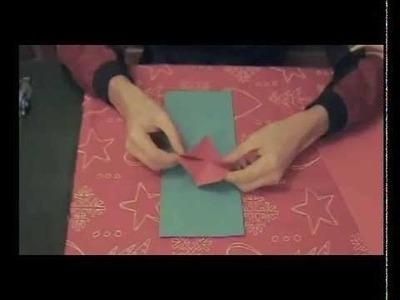 Tulipano in vaso - Origami: l'arte di piegare la carta