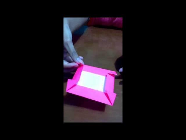 Tutorial - Origami Mawar