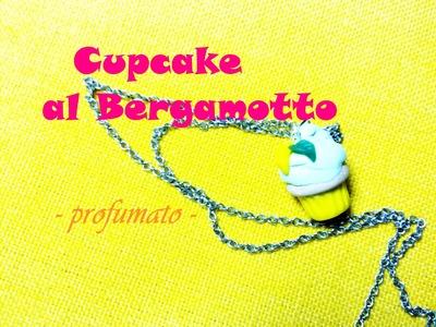 Mini Cupcake Profumato al Bergamotto ♡ Mini Scented Bergamot Cupcake - Polymer Clay Tutorial