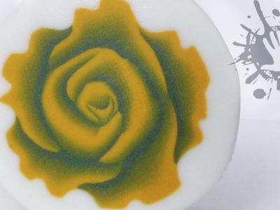 Polymer clay tutorial murrina Rosa tridimensionale 2. millefiori cane 3D Rose 2