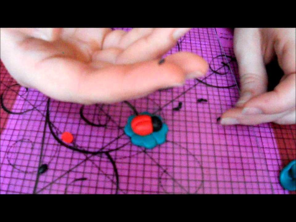 Tuto fimo : la coccinelle (polymer clay ladybird)