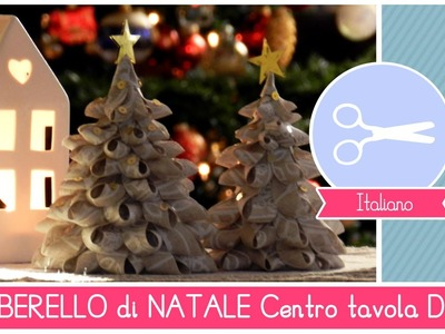 Tutorial DIY Natale: Centrotavola Natlizio ALBERELLI di stoffa Bellissimi, FACILI ed ECONOMICI