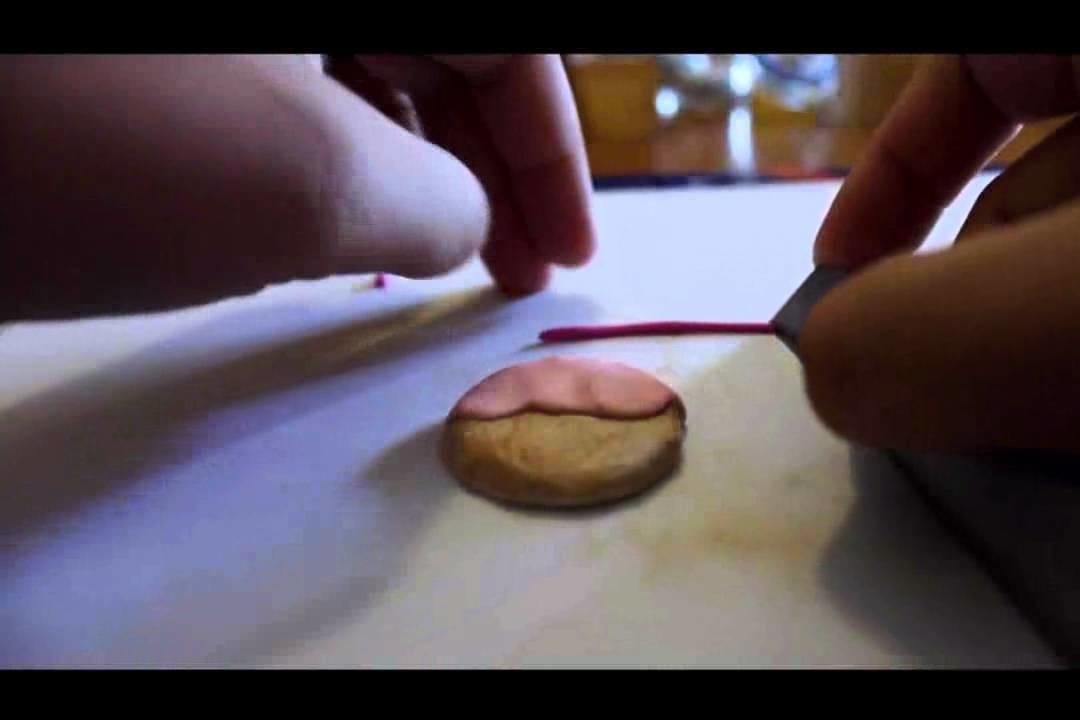 Tutorial FIMO: Cookie Kawaii. Polymer Clay charm