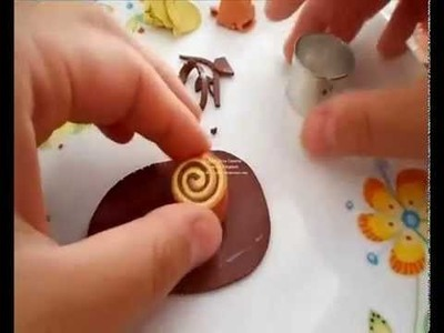 Tutorial merendina Girella (tutorial polymer clay)