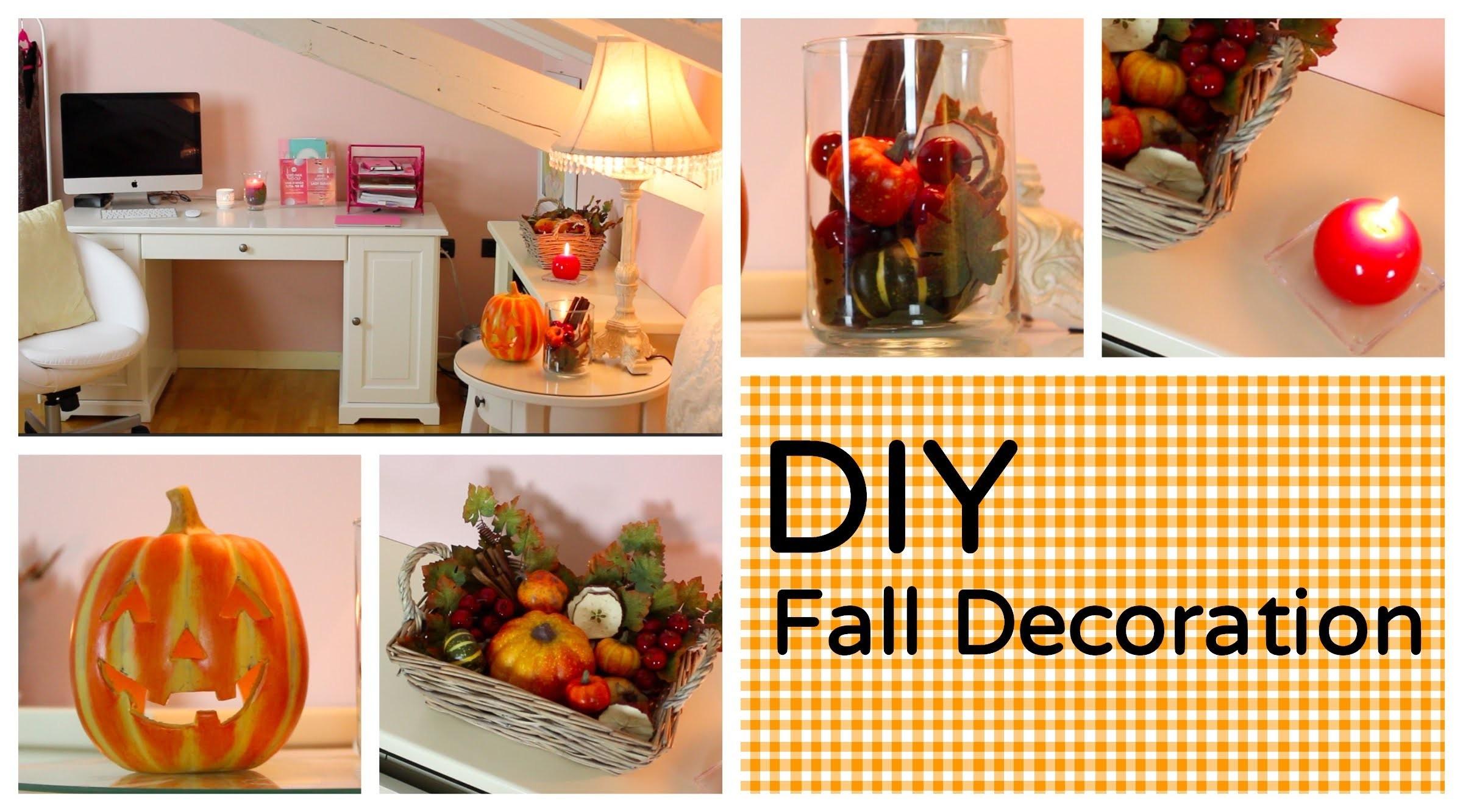 DIY Fall Decoration: l'Autunno in casa