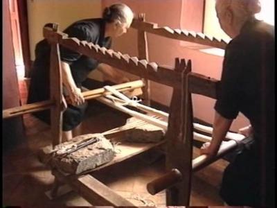 "Tappeti di Armungia - ""Warping (ordire), le fasi preparatorie della tessitura ad Armungia"" Official"