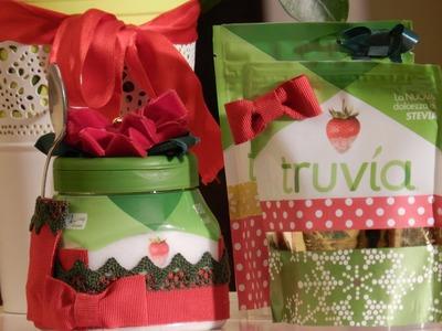 Tutorial Come riciclare le confezioni di Truvìa per Natale: Fantasvale per Truvìa Italia