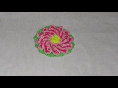 Uncinetto Crochet Fiore Girandola crochet flowers ganchillo flor