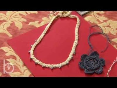 Jeux de dames, unicinetto 29: realizzare una collana di perline
