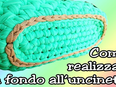 ❀ [Tutorial #1] Base ovale per pochette uncinetto || Oval base for crochet clutch ❀