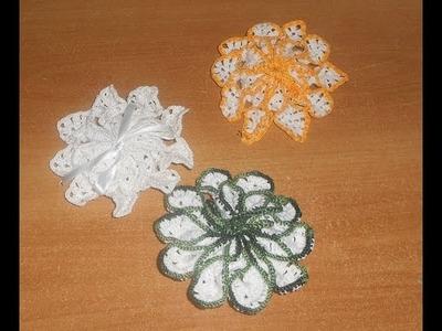 Uncinetto croche  porta saponette parte 1  Crochet Soap Saver Ganchillo Jabon