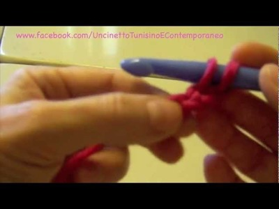Uncinetto Tunisino Punto Base Video