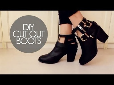 DIY: Cut out boots