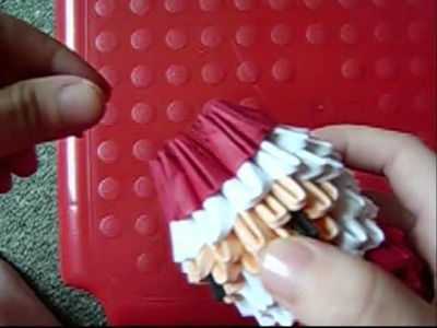 3D origami santa part 2