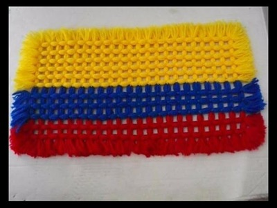 Tapete bandera, Colombia