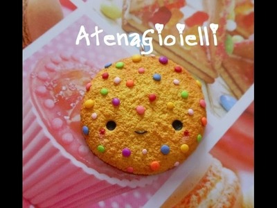 #2 Kawaii cookie tutorial polymer clay