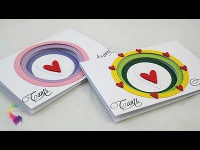 Card a più livelli-Layering Card DIY- Cardmaking Tutorial-Biglietto Auguri Fai da te
