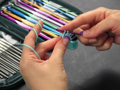 Corso Uncinetto maglia alta - double crochet - Punti base Full HD Ita tutorial