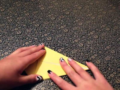 DIY: Origami Grulla de papel