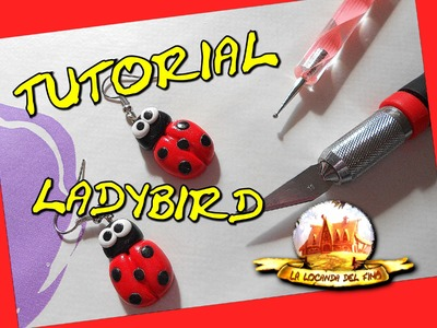 TUTORIAL FIMO ---COCCINELLA KAWAII--- DIY POLYMER CLAY ladybird kawaii