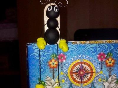 DIY: segnalibro con abbassalingua