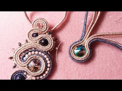 DIY - Tutorial Soutache incastonatura rivoli senza colla