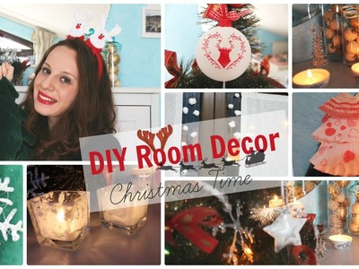 ❄DIY Room Decor for Christmas 2015!