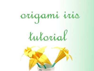 Iris Flower Origami Tutorial