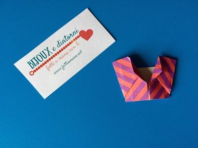 """Tutorial come fare un origami """"kimono inspired"""""""