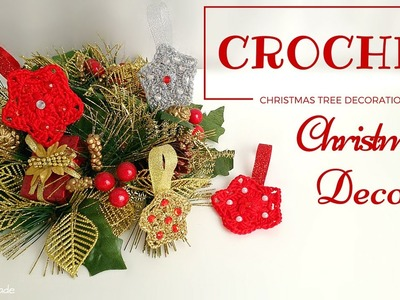 Tutorial uncinetto | Christmas Decoration | Stellina Crochet || Katy Handmade