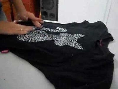 DIY blusa estampada