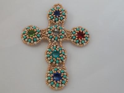 Tutorial - Assemblaggio moduli per creare croce  Esperanza - Seconda parte